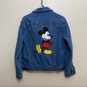 Disney Oversized Denim Jacket